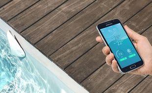 Flipr, lancé par la start-up du même nom, est un object connecté qui permet de mieux gérer l'entretien des piscines.