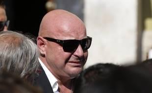Philippe Bianchi, lors des funérailles de son fils, le 21 juillet 2015