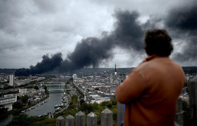 VIDEO. Incendie à Lubrizol: «Ça a été tellement violent, on ne comprend pas comment la décision de rouvrir l'usine a pu être prise»