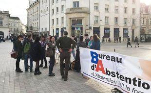 Un bureau d'abstention a été créé à Clermont-Ferrand.