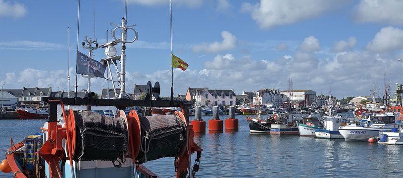 Le port de Leachi Eagat dans le Finistère (Illustration).