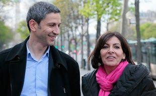 Christophe Najdovski et Anne Hidalgo ont publié une vidéo de campagne ce mardi 25 mars 2014