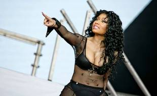 Nicki Minaj, au Roskilde Festival, au Danemark, le 2 juillet 2015.