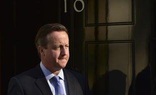 Le Premier ministre britannique David Cameron le 10 septembre 2015 à Londres