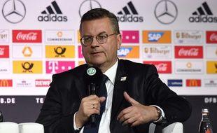 Reinhard Grindel le patron de la Fédération allemande de foot (DFB)