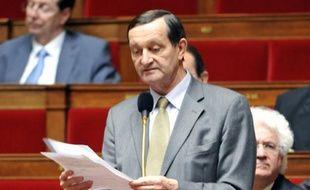 Le député socilaiste Gérard Bapt, en avril 2010 à l'Assemblée.