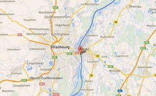 Google Maps de Strasbourg