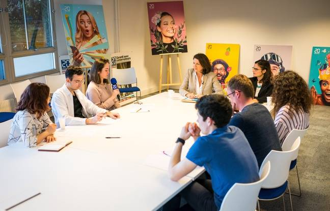 Agnès Buzyn, ministre de la Santé a rencontré six jeunes de notre panel #MoiJeune jeudi 11 avril dans les locaux de 20 Minutes.