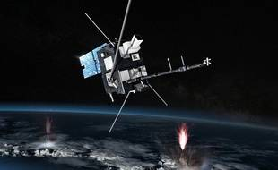 Illustration d'un satellite.