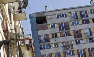 Des immeubles de logements sociaux au nord de Paris