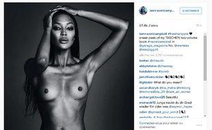 Le compte Instagram de Naomi Campbell.