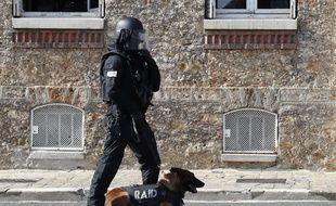 Une vaste opération antiterroriste a eu lieu en France et en Suisse. (Image d'illustration)