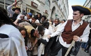 La « Marche des esclaves » est violemment critiquée par la mairie de Nantes.