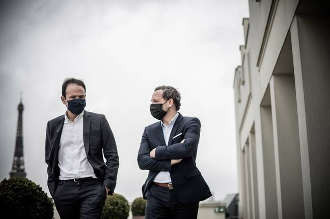 Cédric O et Adrien Taquet.