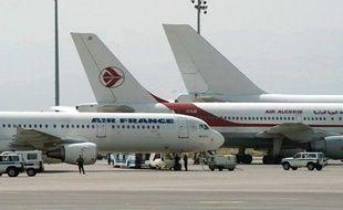 Un avion posé de la compagnie Air Algérie (Illustration).