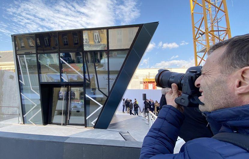 Nice : Un an avant l'ouverture d'Iconic, un avant-goût de ce bâtiment « diamant » s'expose