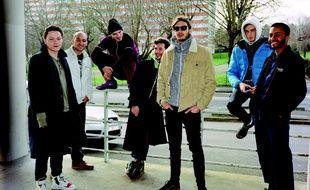 Le groupe de rap Columbine, fondé à Rennes en 2014.