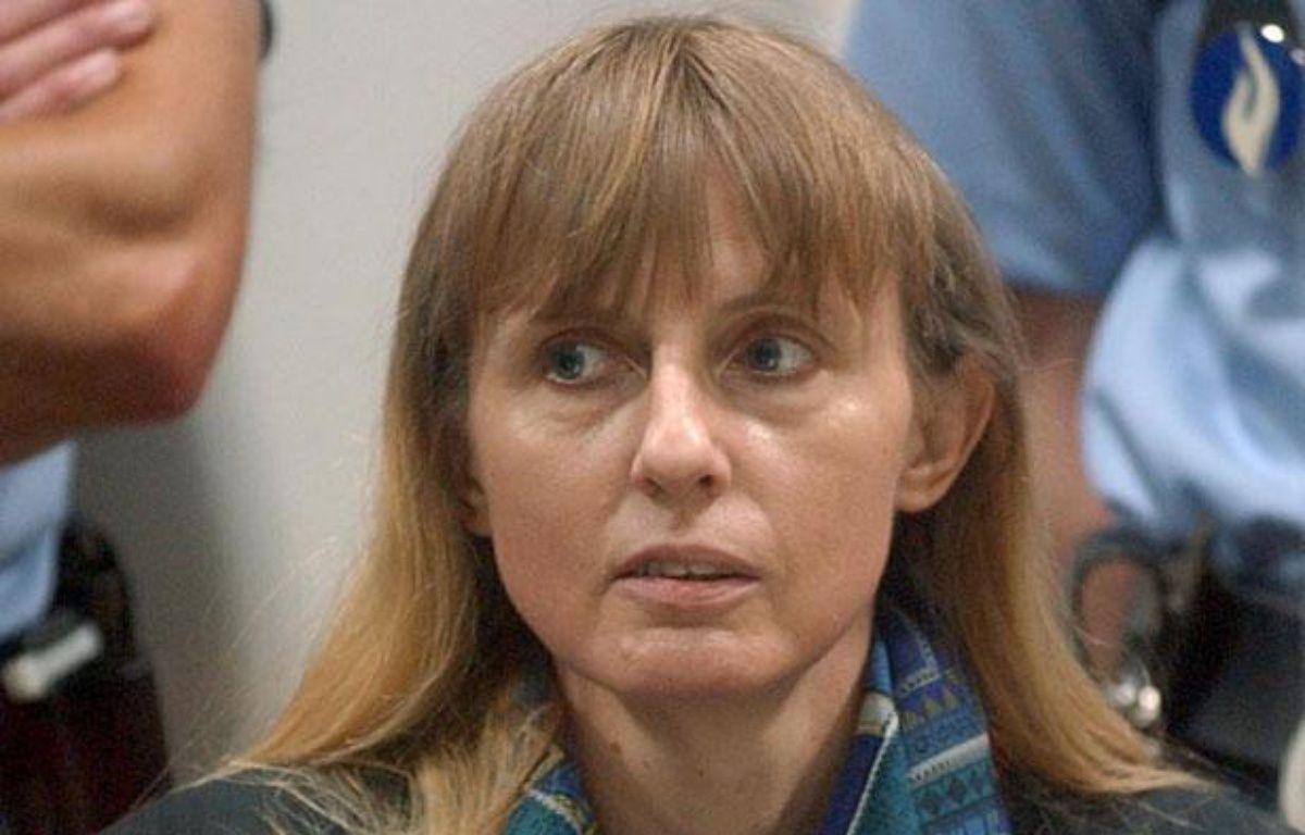L'ex-femme de Marc Dutroux, Michelle Martin, le 14 juin 2004, au tribunal d'Arlon (Belgique). – AFP