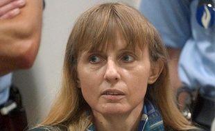 L'ex-femme de Marc Dutroux, Michelle Martin, le 14 juin 2004, au tribunal d'Arlon (Belgique).