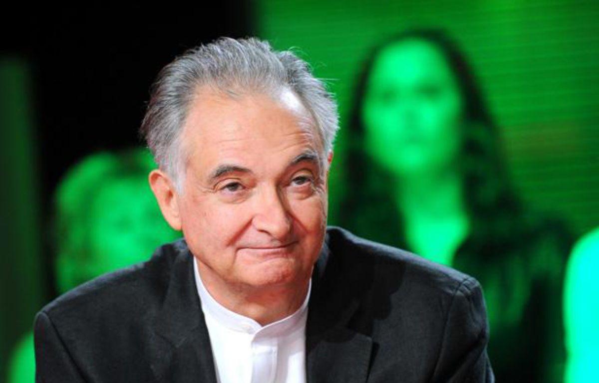 Jacques Attali, économiste et écrivain, sur un plateau de télévision en avril 2011. – BALTEL/SIPA