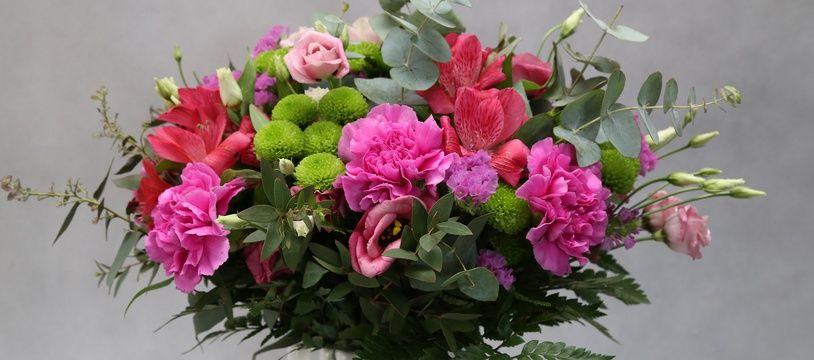 Un bouquet de fleurs (photo d'illustration).