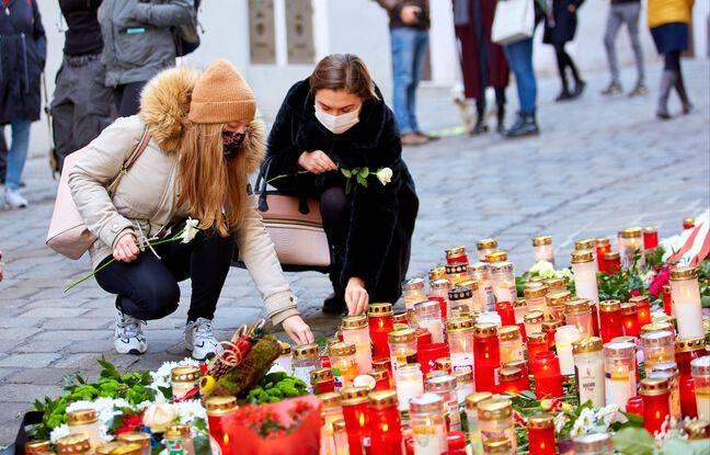 648x415 des bougies en hommage aux quatre victimes de l attaque terroriste a vienne le 6 novembre 2020
