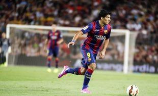 Luis Suarez a fait ses débuts avec le Barça, le 18 août 2014 au Camp Nou.