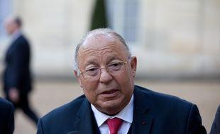 Le président du Conseil français du culte musulman, Dalil Boubakeur, le 24 février 2015 à Paris.