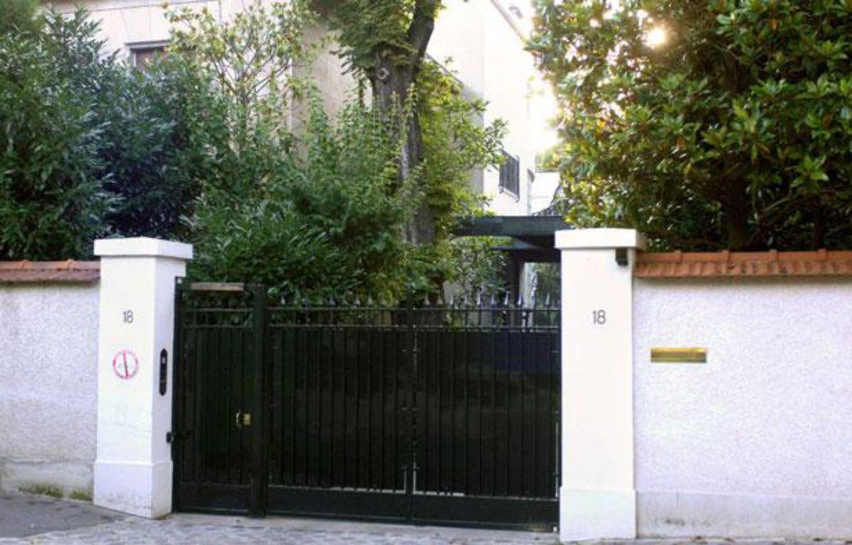 Le domicile des Bettencourt à Neuilly-sur-Seine, où se serait régulièrement rendu Nicolas Sarkozy – STEVENS FREDERIC/SIPA