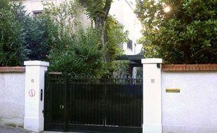Le domicile des Bettencourt à Neuilly-sur-Seine, où se serait régulièrement rendu Nicolas Sarkozy