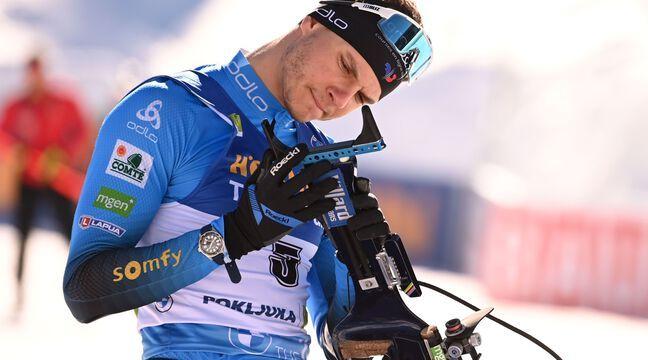Biathlon : Préparation un peu compromise pour Emilien Jacquelin, opéré d'un bras après une chute à vélo