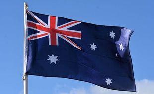 Illustration du drapeau australien