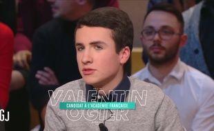 Valentin Ogier rêve déjà d'être un Immortel.