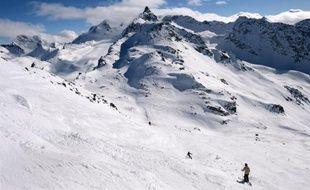 Illustration d'un paysage de montagne.