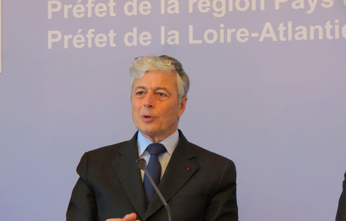 Nantes, le 19 février 2015, le préfet de Loire-Atlantique Henric-Michel Comet – Frederic Brenon / 20 Minutes