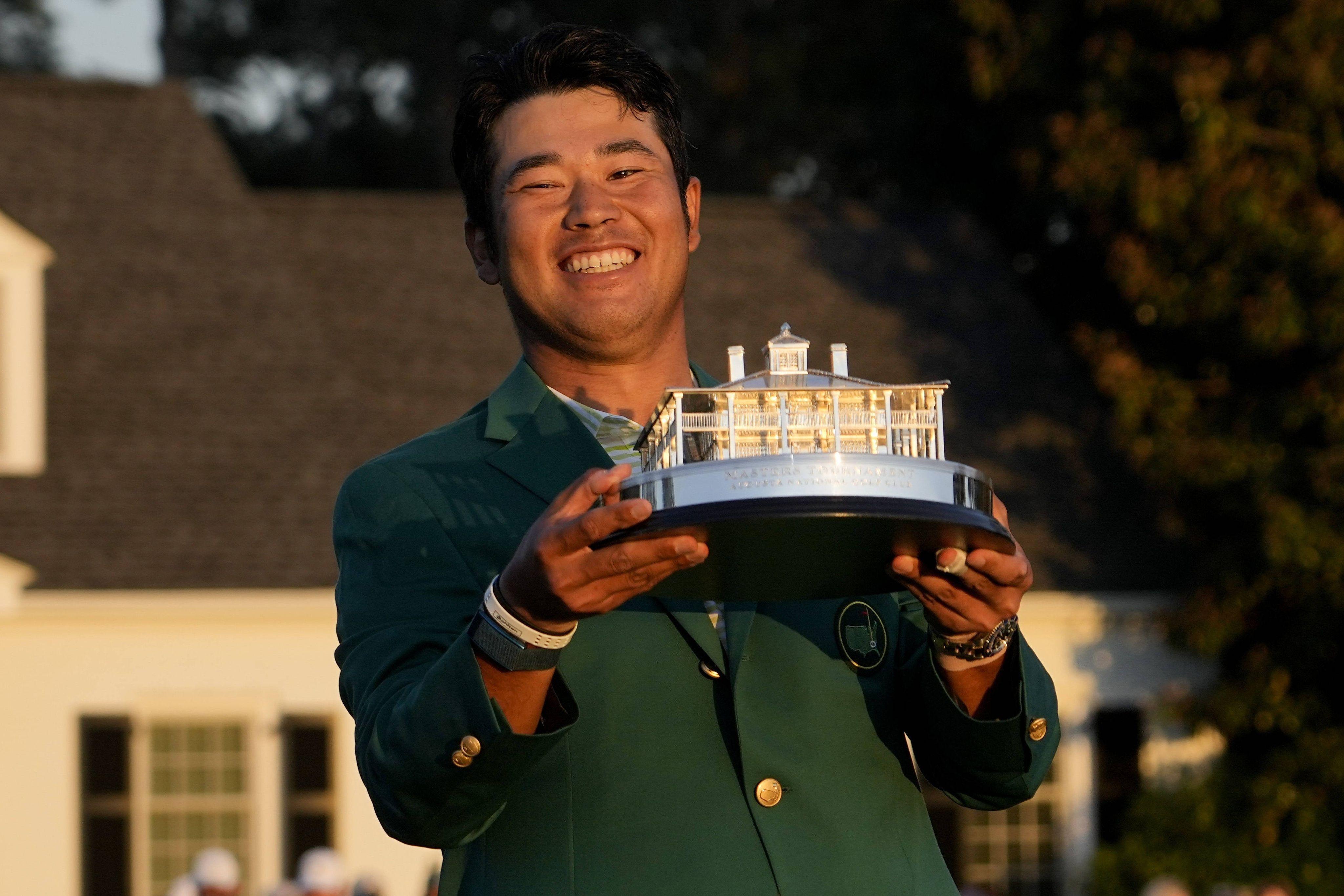 Hideki Matsuyama entre dans la légende