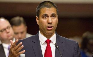 Ajit Pai, président de la FCC, le 19 juin 2017 à Washington, Etats-Unis.