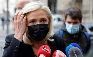 Marine Le Pen, le 6 octobre 2020 à Paris.