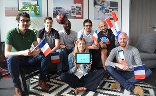 L'appli la Routourne vient d'être lancée par la start-up lyonnaise Appsolute pour la Coupe du monde 2018 en Russie.