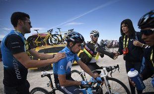Mikel Landa lors du Tour de France 2019.