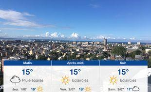 Météo Le Havre: Prévisions du mercredi 30 juin 2021