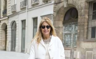 L'ancienne directrice mode de Vogue Brésil, Donata Meirelles, à Paris le 9 janvier 2018.