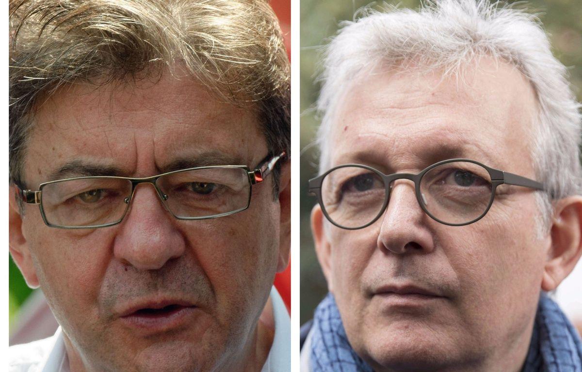 Collage SIPA 20 Minutes de Jean-Luc Mélenchon (France insoumise) et de Pierre Laurent (Parti communiste français) – 20 Minutes/SIPA