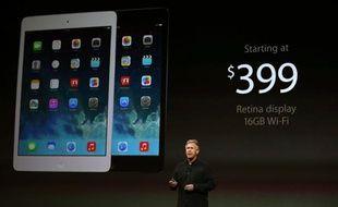 Keynote d'Apple le 22 octobre 2013.