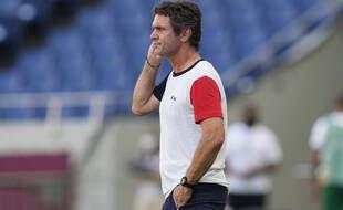 Sylvain Ripoll, le coach des Espoirs.