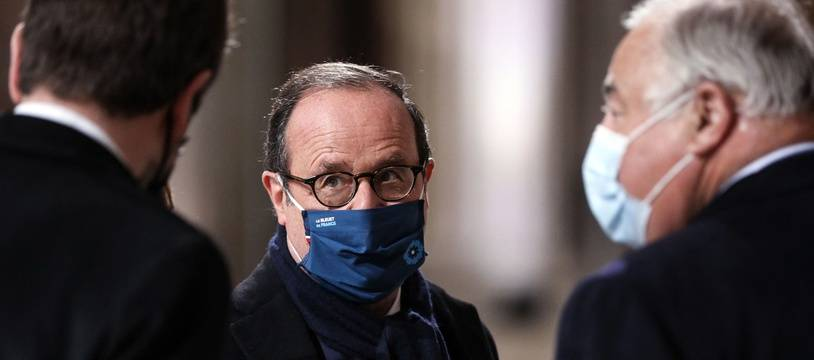 François Hollande, le 11 novembre 2020.