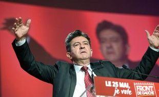 Jean-Luc Mélenchon, coprésident du Parti de Gauche, en mai 2014 à Toulouse lors de la campagne des élections européennes