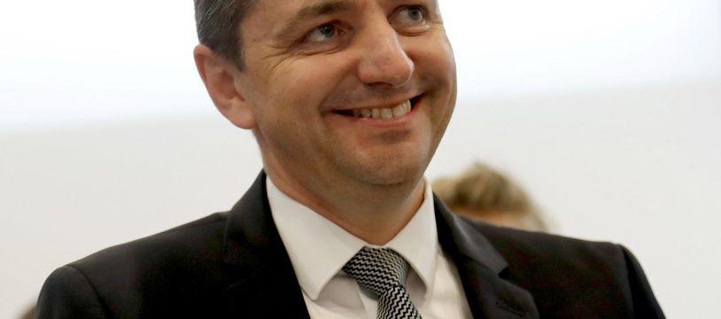 Gaël Perdriau est le maire de Saint-Etienne depuis 2014. (archives)