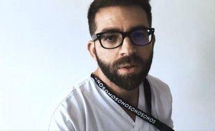 L'infirmier Maxime Dro a réalisé un clip sur les difficulté rencontrées par le personnel soignant, visionné 1,5 million de fois sur Internet