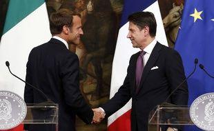 Macron et Conte